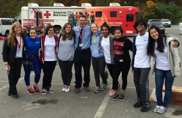 Community Preparedness/SUNY New Paltz Make a Difference Day at Alcoa, Kingston, October 2014