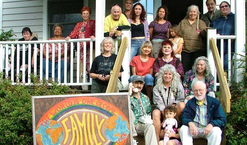 Family of Woodstock Thanksgiving Dinner